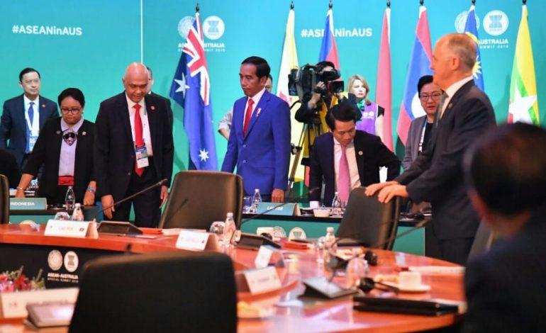 Presiden Hadiri Sidang Pleno KTT Istimewa ASEAN-Australia