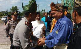 Dengan Bertanjak AKBP Restika Pardamean Nainggolan SIK Silaturahmi ke LAMR Dumai
