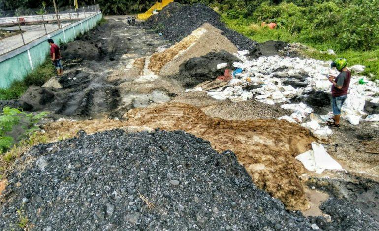 Diduga Limbah Botom As & Fly As PT Sumber Mutiara Indah Perdana Dibiarkan Cemari Lingkungan