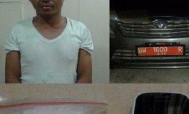 Mobil Dinas Disnaker Dumai Ditangkap Bawa Sabu