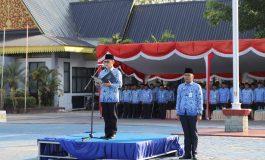 Peringatan Hari Kesadaran Nasional, Walikota Bertindak Sebagai Inspektur Upacara