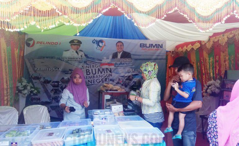 UKM Binaan Pelindo I Dumai Unjuk Gigi di Pameran Dumai Expo 2018