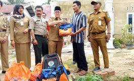 Walikota Dumai Kunjungi Korban Angin Puting Beliung, Rumah Korban Dibantu Lewat Program Bedah Rumah