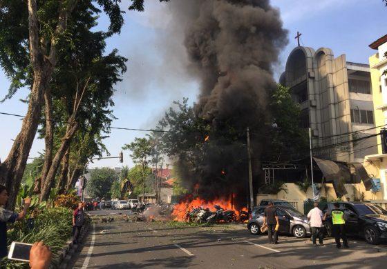 Bom Bunuh Diri Surabaya Hari Ini