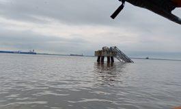Jembatan Pertamina RU II Dumai Roboh, Dua Orang Menjadi Korban. Satu Dinyatakan Masih Hilang