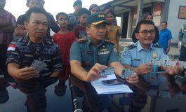 Lanal Dumai Tangkap 7 Orang Warga Myanmar