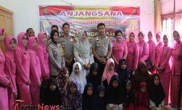 Polres Dumai Laksanakan Anjangsana Dalam Rangka Hut Bhayangkara ke 72
