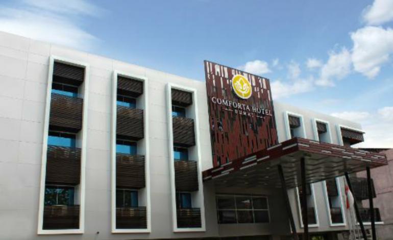 Lobi Hotel Comforta Dumai Jadi Tempat Transaksi Ekstasi