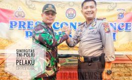 Sinergitas TNI-POLRI, Satu Orang Pelaku Pembakaran Hutan & Lahan Sungai Sembilan di Ringkus