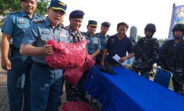 Lanal Dumai Tangkap Kapal Bawa Bawang Ilegal Asal Malaysia
