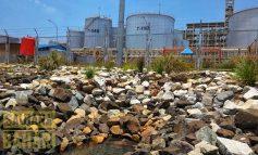 PT Energi Sejahtera Mas Diduga Buang limbah Ke Luat Dumai