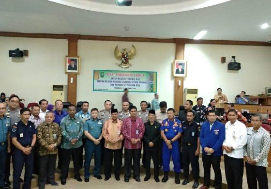 Pembahasan Konflik Antar Nelayan Riau,Sumut,Jambi Dan Kepri Digelar