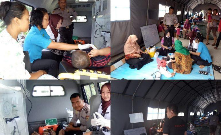 Kapolres Dumai Kerahkan Tim Medis Bantuan Korban Banjir