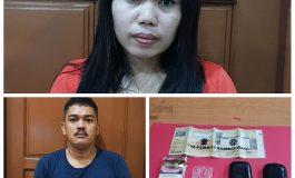 Polisi Ringkus Dua Orang Tersangka Kasus Narkoba Satunya Mama Muda