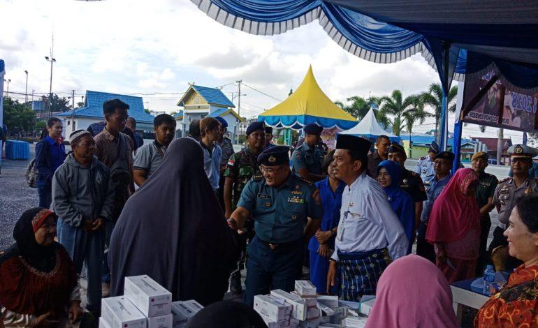 Lanal Dumai Laksanakan Bakti Sosial Dalam Rangka Hari Armada 2018