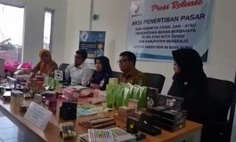 Kantor Badan POM di Kota Dumai Lakukan  Penertiban Kosmetik Ilegal