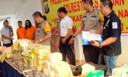 Dibawa Dari Dumai Polisi Medan Sikat 45 Kg Sabu & 40 Ribu Pil Ekstasi