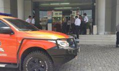 Hari Ini Keamanan Nasabah BNI 46 Dumai Terancam. Satu Pelaku Dilumpuhkan Petugas