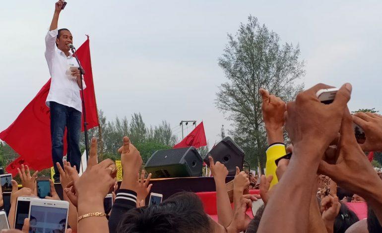 Ini Janji Jokowi di Kota Dumai