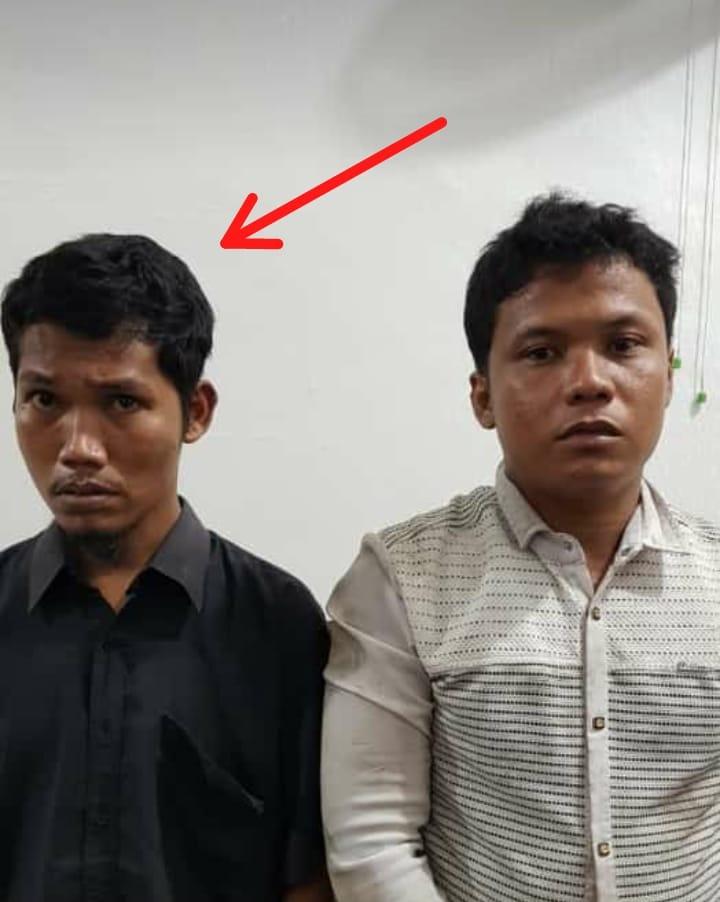 YP (26) dan DR (35)diringkus petugas Jalan Duku, Kelurahan Rimba Sekampung Kecamatan Dumai Kota, Kamis (18/10) sekira pukul 19.00 WIB.